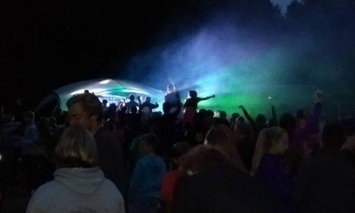 Big camp party